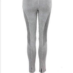 39dfb4ab7d04b Pants | Elisa Cavaletti Grey Biker Style Leggings | Poshmark